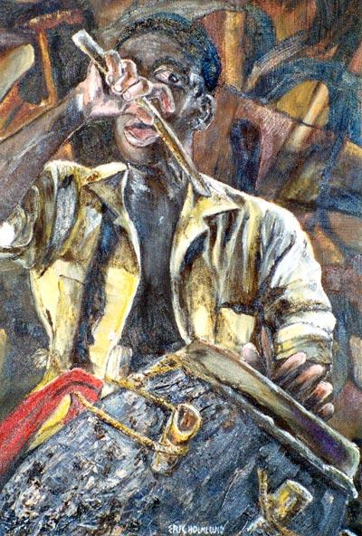 Senagalese drummer