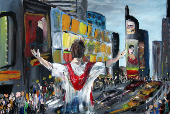 Jesus in Times Square