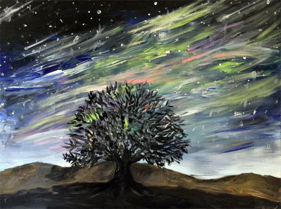 Night Sky Colors