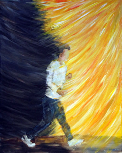 Stepping From Darkness To Light